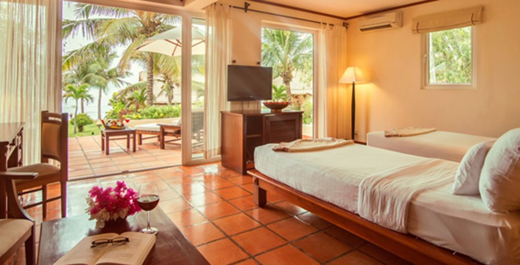 Staying at the tranquil Victoria Phan Thiet Resort - the perfect way to end your journey
