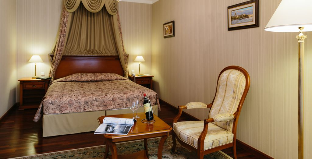 With a stay in the Grand Hotel Emerald in a Superior Room - Grand Hotel Emerald 5* St Petersburg