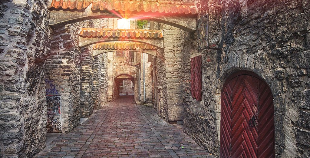 Where you will wander through ancient St. Catherine's Passage...