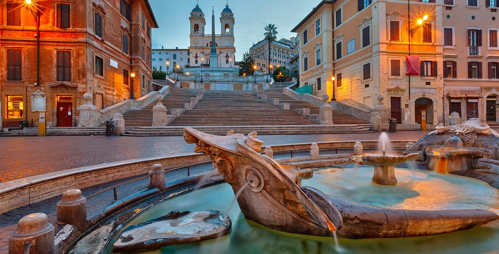 Fall in love with the Eternal City