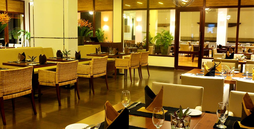 Choose from a range of dining options