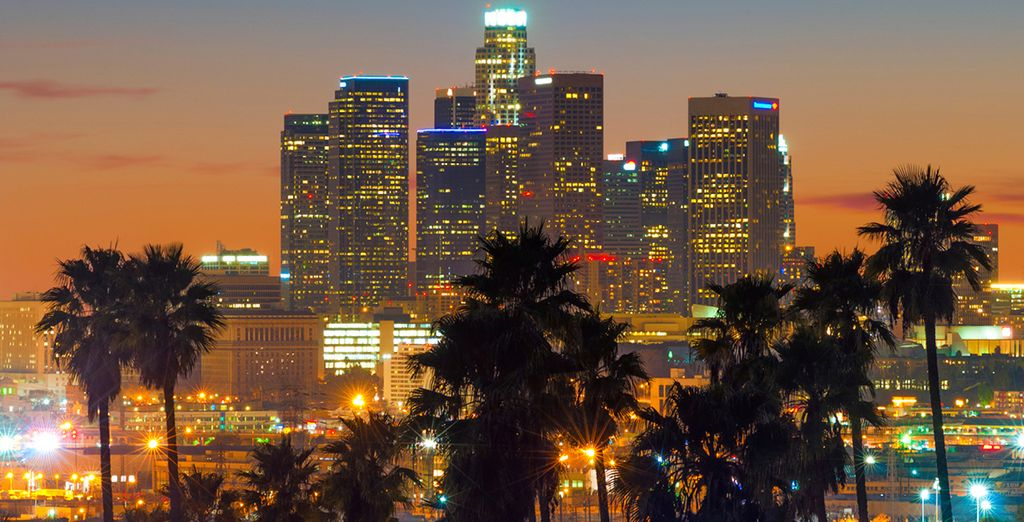 Start your trip in Los Angeles