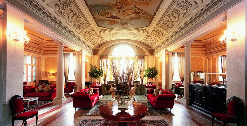 Bask in the classic splendour of the hotel