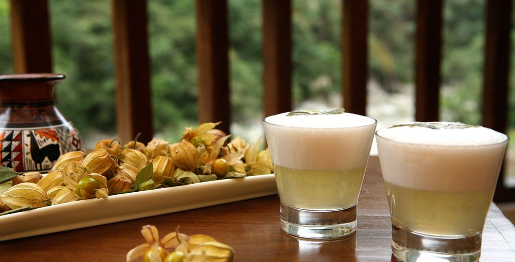 Try the famous Pisco Sour