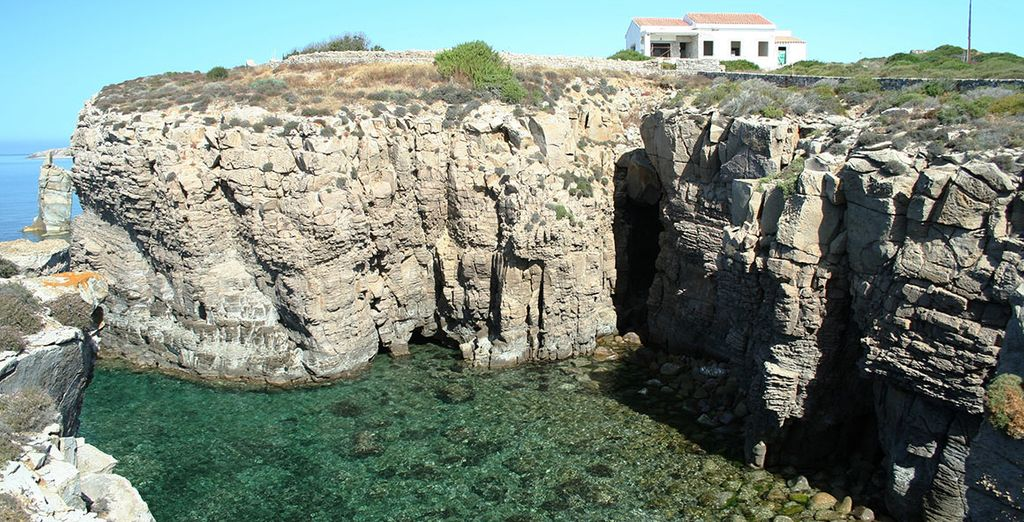 Discover secluded natural swimming pools
