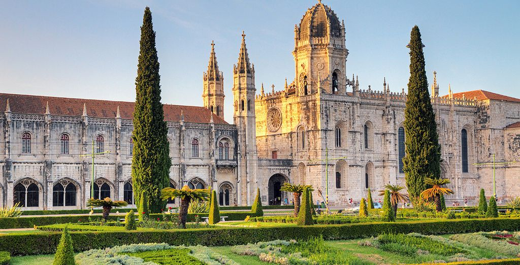 And Jeronimos Monastery