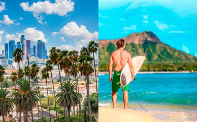 Luxe Rodeo Drive 4* y The Royal Hawaiian 5*