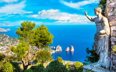 Tour de las islas del Golfo de Nápoles