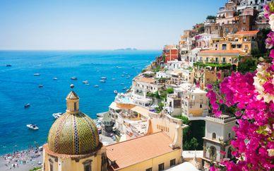 Recorrido por Isquia y por la Costa Amalfitana