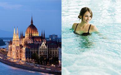 Starlight Suiten Hotel 4* et accès aux bains thermaux Gellert
