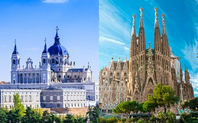 Combiné The Walt Madrid et Ilunion Barcelona 4*