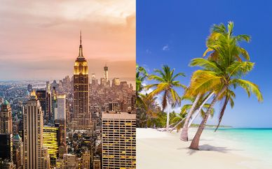 Combiné New York en 4* et Punta Cana en 5*