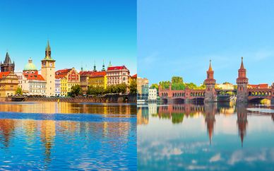 Combiné hôtels Royal Prague et Sir Savigny Berlin 4*