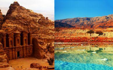 Petra Express e Mar Morto in Hotel 4* o 5*