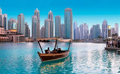 Crowne Plaza Dubai 5* with Included Excursions