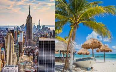 The Aliz Hotel Times Square 4* & Royalton Cancun Resort & Spa 5*