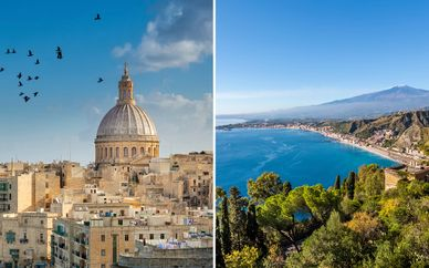 Sicily & Malta - Fly & Drive 4*