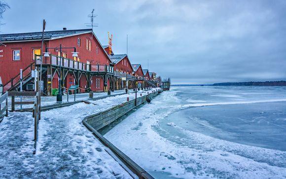 Uw reisprogramma van 7 nachten met verlenging in Luleå