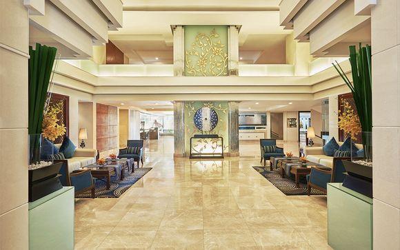 Uw optioneel verblijf in het Center Point Hotel Silom 4*