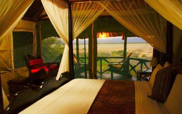 Uw hotels tijdens de safari