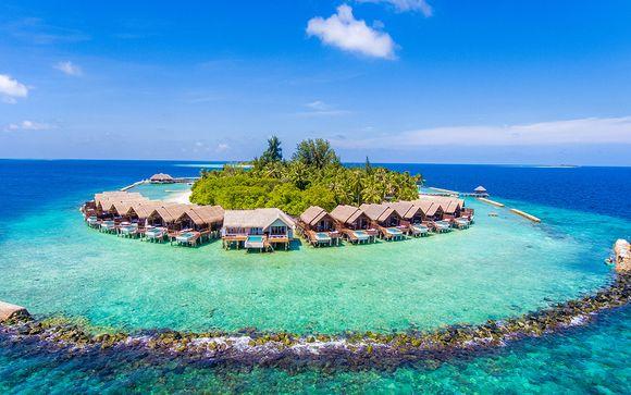 Willkommen auf.. den Malediven!
