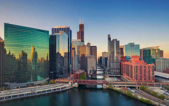 Willkommen in... Chicago und New York!