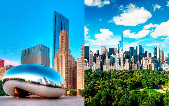 Willkommen in... Chicago und New York City!