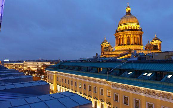 Willkommen in... St.Petersburg!