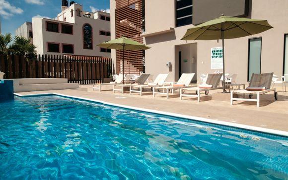 Stopover für 1 Nacht in Cancún: La Quinta Inn