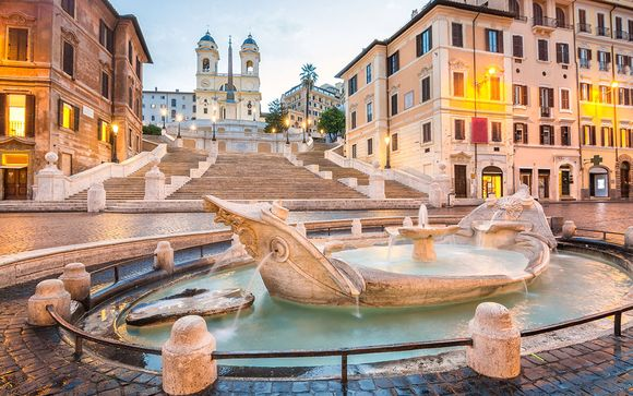 Willkommen in... Rom!