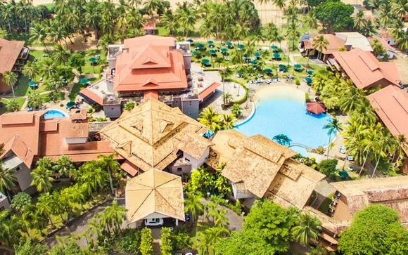 Ihr Strandaufenthalt im Royal Palms Beach Hotel 5*