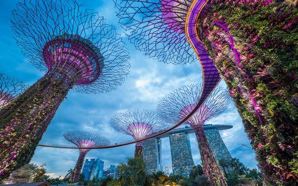 Ihr optionaler Stopover in Singapur