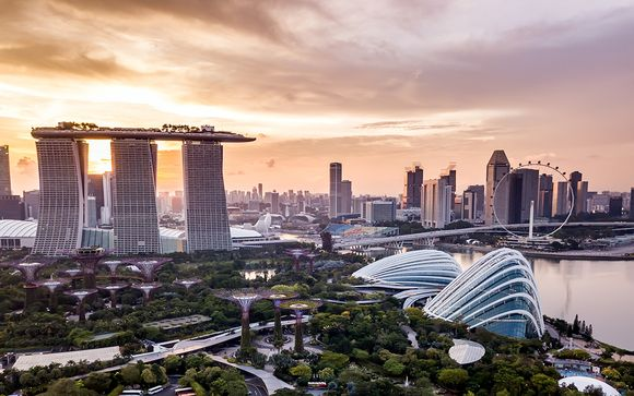 Ihr optionaler Stopover in... Singapur!