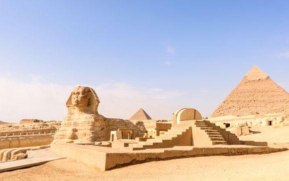 Pharaonenkultur, faszinierende Nil-Landschaft und Strandaufenthalt