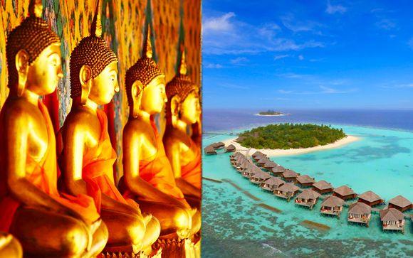 Rundreise Sri Lanka + Vakarufalhi Island Resort 5*