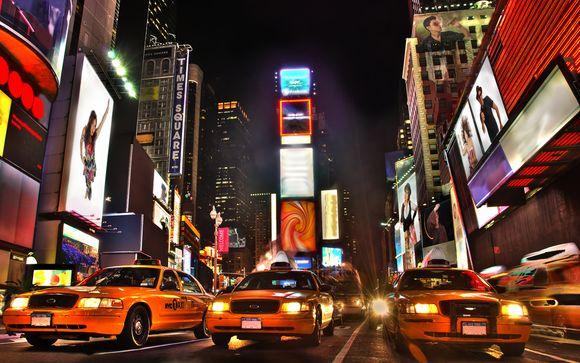 Ihre Verlängerung in New York