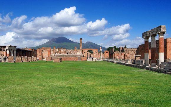 Entdecken Sie Pompeji und den Vesuv