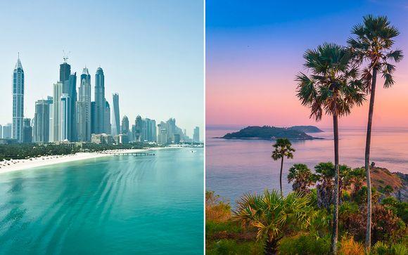 Tailandia Phuket - Crowne Plaza Dubai Festival City 5* y Banthai Beach &amp Spa 4* desde 807,00 €