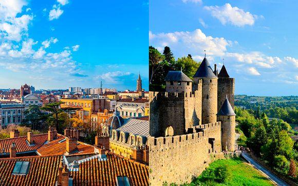 Combinado por los encantos de la región de Occitania