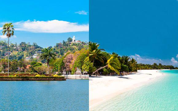 Descubre las dos perlas del Océano Índico con vuelos
