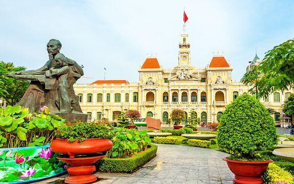 Itinerario del circuito en Vietnam
