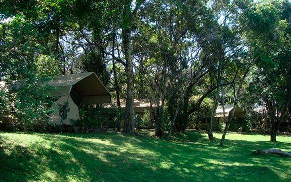Campamento en Mara River Camp