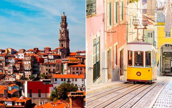 Portugal Lisboa - Holiday Inn Porto Gaia 4* y Corinthia Hotel Lisbon 5* desde 260,00 €
