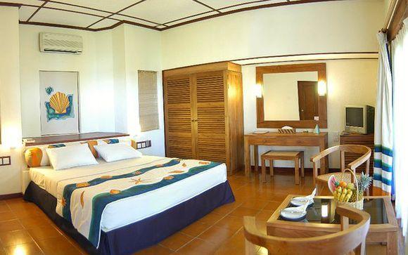 Su habitación en el Hotel Adaaran Club Rannalhi 4*