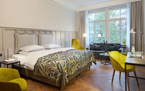Hotel Alexander Plaza Berlín- Mitte 4*