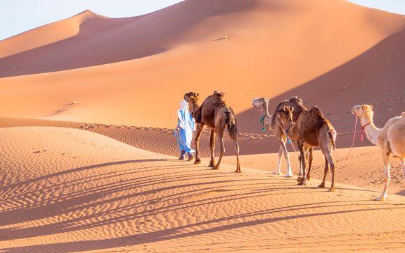 Tradición y exotismo con excursión al desierto