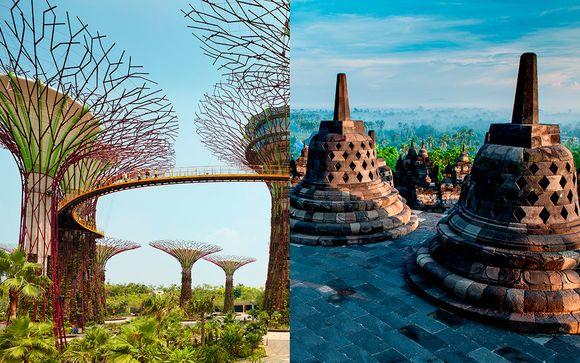 Singapur, Java y Bali