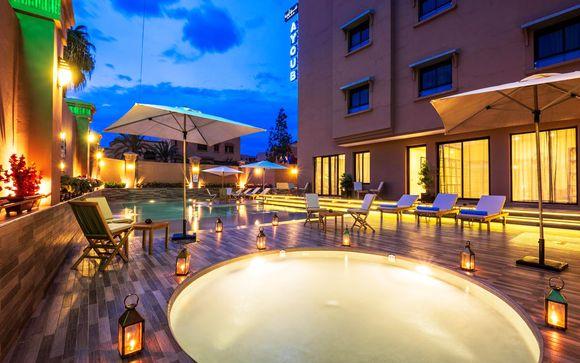 Marruecos Marrakech  Ayoub Hotel  Spa 4* desde 51,00 €