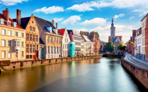 Bélgica Brujas - NH Collection Brussels Centre 4* y NH Brugge 4*  desde 48,00 €