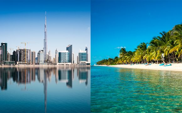 con Voyage Prive en Mauricio Mauricio